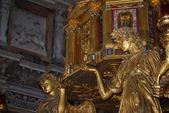 базилика санта-мария маджоре - рим - внутри — Стоковое фото