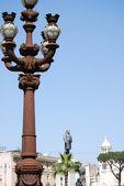 Monument to Camillo Benso di Cavour in Piazza Cavour, Rome, Italy — Stock Photo