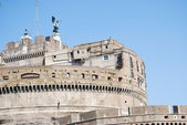 View of Castel Sant'Angelo Rome, Italy — Stock Photo
