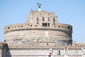 View of Castel Sant'Angelo Rome, Italy — Stock fotografie
