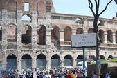 Italy. Rome. The ancient Collosseo — Stock Photo