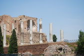 Beautiful view of Imperial Forum in Rome — Stock Photo