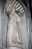 Basilica Santa Maria maggiore - Rome - inside — Zdjęcie stockowe