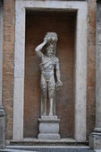 Statue of a Demon at Capitoline, Rome, Italy — Stock Photo