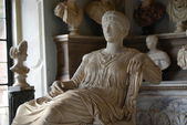 Inside one of the rooms of the Capitoline Museums in Rome — Foto de Stock