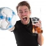 Soccer winner!! — Stock Photo