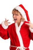 Cool looking Santa Claus — Stock Photo