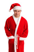 Serious santa — Stock Photo