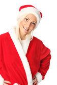 Cute santa close up — Foto de Stock