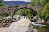 Puente romano un ojo Jarandilla de la Vera — Stock Photo