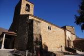 Iglesia de piedra Valverde de la Vera — Stock Photo
