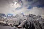 Zima śnieg górskiej — Zdjęcie stockowe