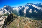 Landscape on mountain — Stock Photo