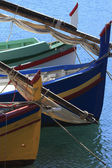 Prow - Catalane's fishing boat - France — Stock Photo