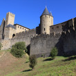 Castle of Carcassonne, France — Stock Photo