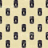 无缝石油桶模式 — 图库照片