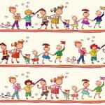 Kids pattern — Stock Vector #24403767