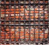 металлические решетки — Стоковое фото