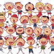 Children chorus — Stock Vector #27571703