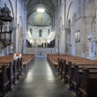 Stock Photo: Beautiful interior of Cathedral in Lund, Sweden.