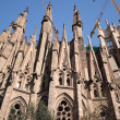 SagradFamilichurch in Barcelona, Spain. — Stock Photo #23065544