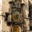 Stock Photo: Astronomical clock in Prague.