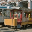 Old historic trams. — Stock Photo