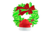 Vánoční rákosí. — Stock fotografie