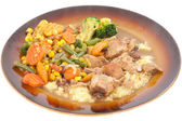 Pork Stew. — Foto de Stock