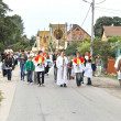 Religious procession at Corpus Christi Day. - ストック写真