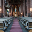 Stock Photo: Interior of Swedish church in Eskilstuna.