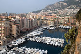 Yacht-port. Marina in Monaco. — Stock Photo