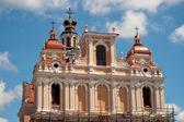 Summit Church of St. Casimir in Vilnius. — Stock Photo