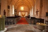 в красивый интерьер церкви. — Стоковое фото