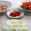 Stock Photo: Components for Chicken Mexican.