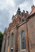 St. Catherine's Church Towers. — Stock Photo