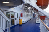 Open day on the ferry Stena Spirit. — Stock Photo