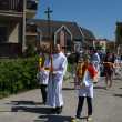 Religious procession at Corpus Christi Day. — Стоковая фотография