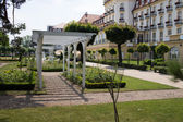 Grand Hotel in Sopot, Art Noveau style mansion. — Stock Photo
