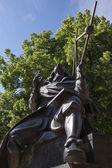 Jan Hevelius monument — Stock Photo