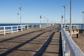 On the pier — Stock Photo