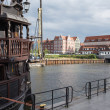 Gdansk harbor, Poland — ストック写真
