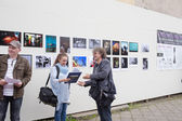 Exhibition Fotopasieka. — Stock Photo