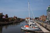 Marina w gdańsku — Zdjęcie stockowe