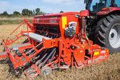Red harvester. — Stock Photo