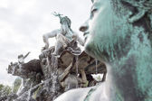 Neptunbrunnen, Berlin. — Stock Photo