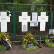 Berlin Cross Memorial — Stock Photo