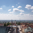 Stock Photo: Roofs of Sandomierz.