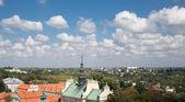 Roofs of Sandomierz. — Stock Photo