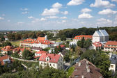 Roofs of Sandomierz. — Stock Photo